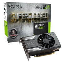EVGA GeForce GTX 1060 Lineup