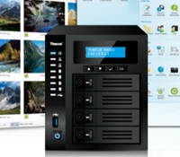 Thecus(R) Extends their Ultimate Multimedia NAS series with 4 Bays