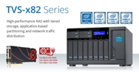 QNAP Announces High-performance TVS-x82 Business NAS Series