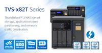 QNAP Launches the Next-generation Thunderbolt 2 NAS TVS-x82T Series