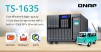 QNAP Launches Cost-effective Quad-core TS-1635 with Epic 16-bay Storage Capacity and Two 10GbE SFP+ Ports