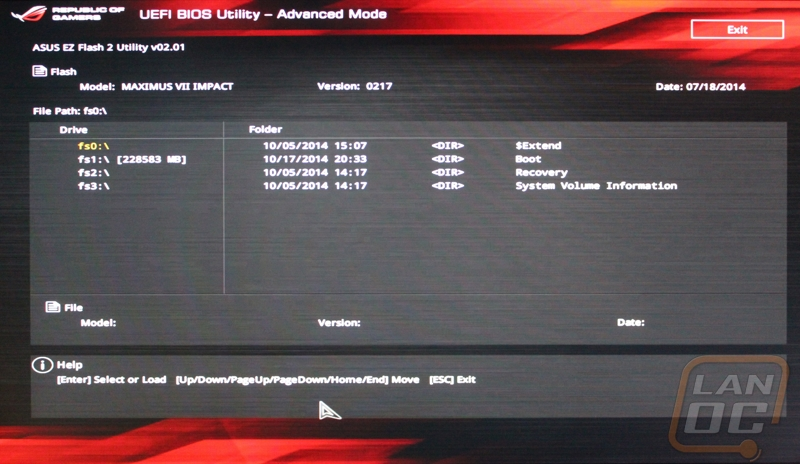 how to get into asus bios system