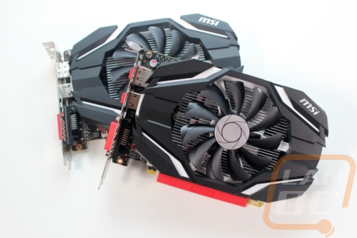 MSI GTX 1050 and GTX 1050 Ti