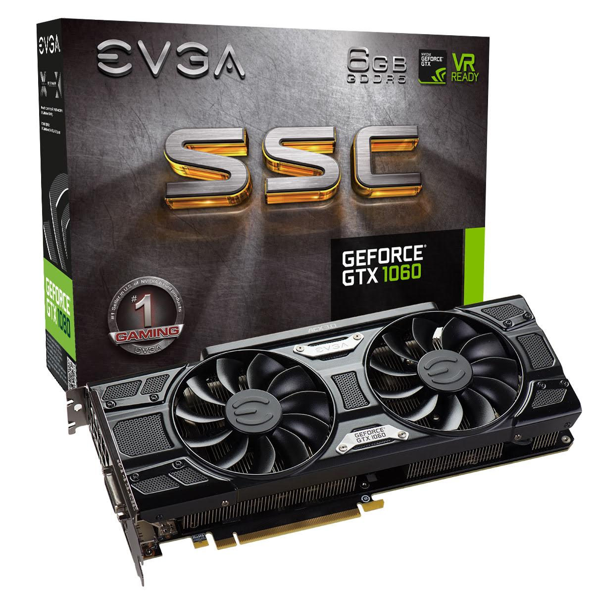 EVGA GeForce GTX 1060 Lineup - LanOC Reviews