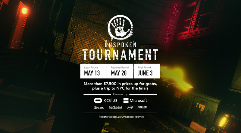 ASUS Republic of Gamers, ESL, Insomniac Games, Intel, Microsoft, and Oculus Unite to Launch World's First VR Tournament