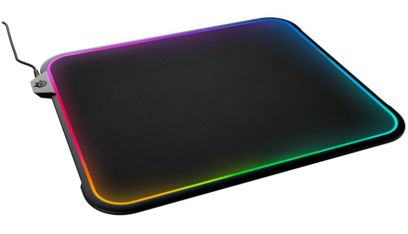 SteelSeries Brings Gamers the World's First Dual-Surface RGB Illuminated Mousepad - Introducing The QcK Prism