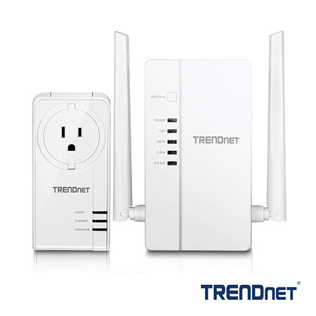 TRENDnet announces AC1200 Powerline adapter with built-in wireless access point