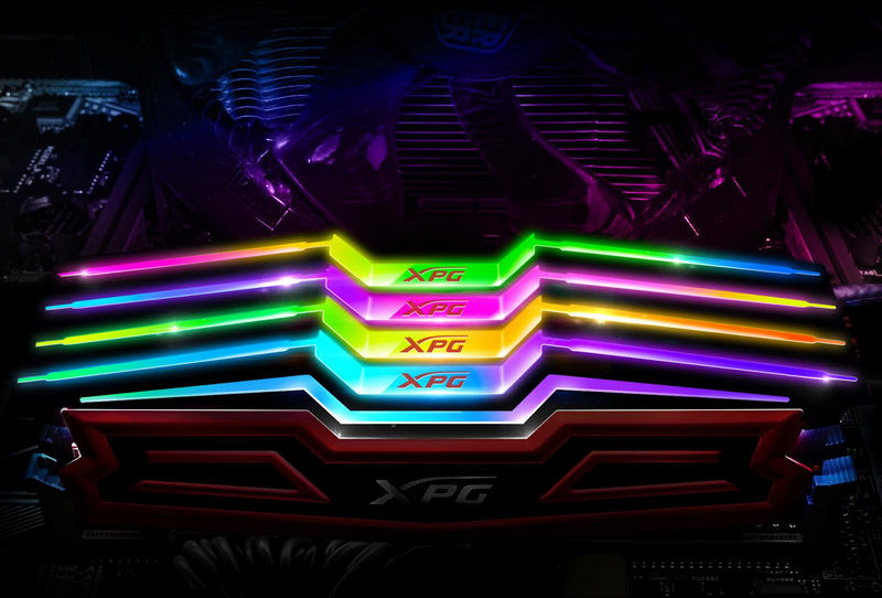 ADATA Debuts XPG SPECTRIX D40 RGB DDR4 with programmable lighting