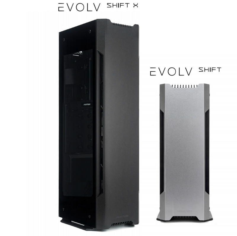 Phanteks releases the new Evolv Shift and Evolv Shift X
