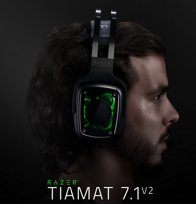 Razer announces the Tiamat 7.1 V2