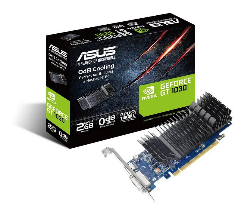 ASUS Launches GeForce GT 1030 Graphics Cards