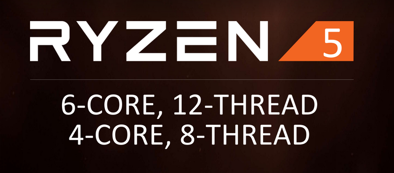 Ryzen 5 CPUs previewed