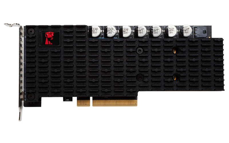 Kingston Digital Ships Next-generation Data Center PCIe SSD