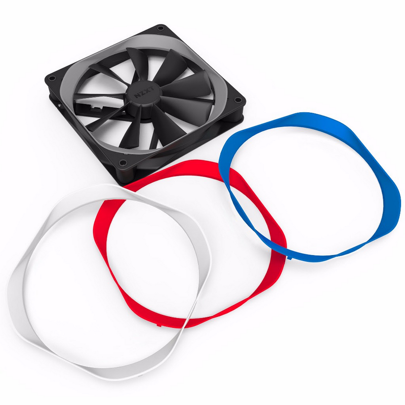 NZXT Introduces Aer F Fans