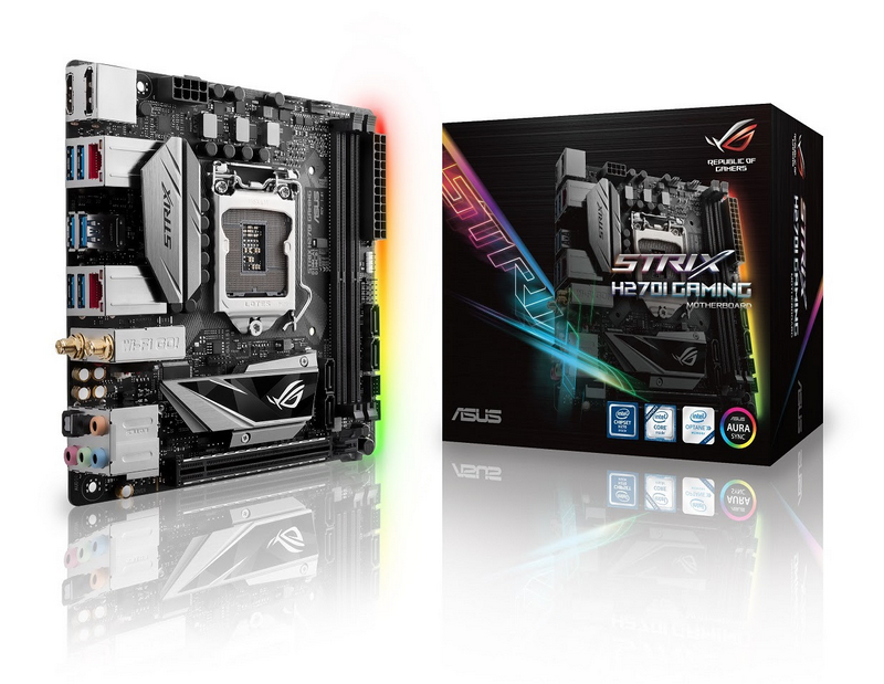 ASUS ROG Launches Strix H270I and B250I Motherboards