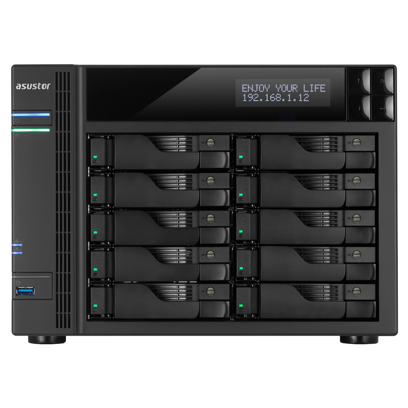 ASUSTOR Adds Powerful NAS Models Featuring Intel® Core™ i5 Quad-Core Processors: AS7004T-i5 and AS7010T-i5