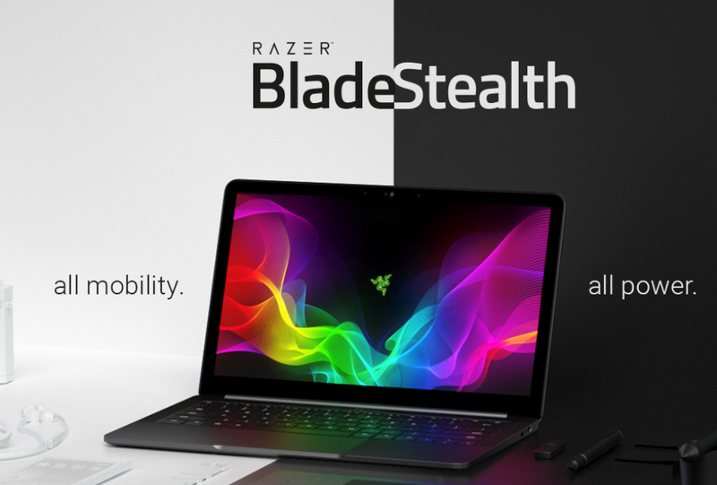 RAZER LAUNCHES QUAD-CORE BLADE STEALTH LAPTOP AND CORE V2 EXTERNAL GRAPHICS ENCLOSURE