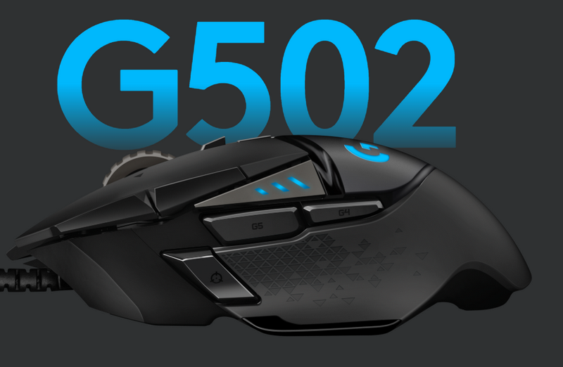 Logitech G Upgrades G502 Gaming Mouse with Hero 16K sensor