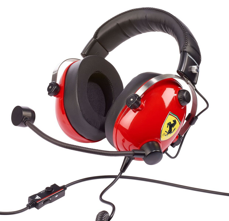 Thrustmaster launches its first ever Scuderia Ferrari edition headset available to  preview at the Ferrari Store City Race 2018 event in Milan.