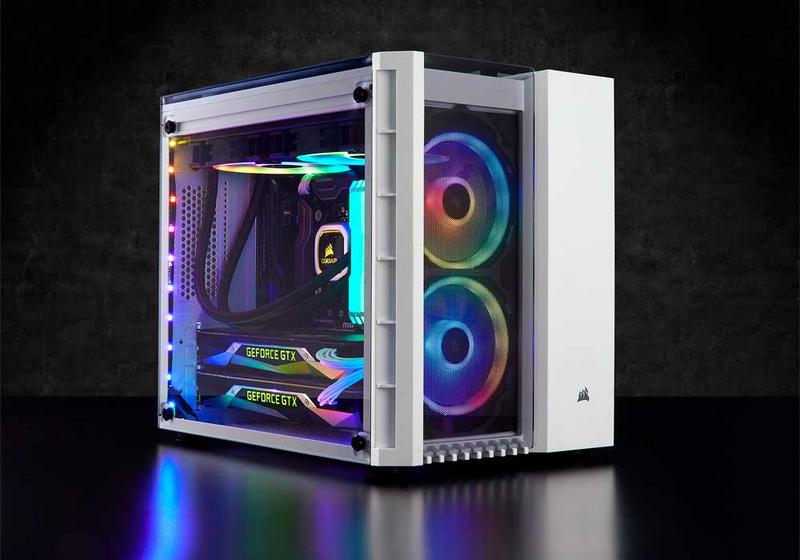 CORSAIR Launches New Crystal Series 280X RGB MATX Case at Computex
