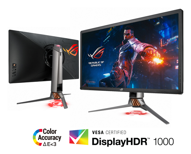 ASUS launches the ROG Swift PG27UQ Gaming Monitor