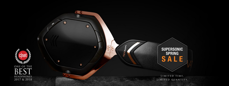 V-Moda Supersonic Spring Sale is live!