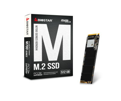 BIOSTAR Launches the New M700 M.2 PCIe NVMe SSDs