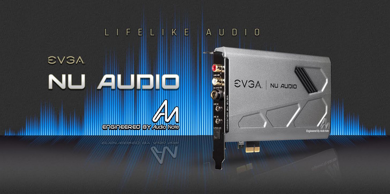 EVGA introduces NU Audio Card