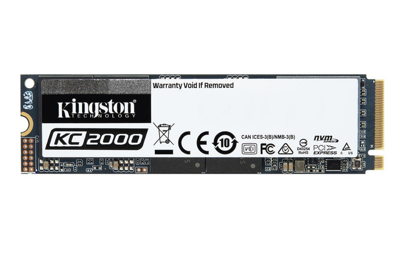 Kingston Introduces Next-Gen KC2000 NVMe PCIe SSD