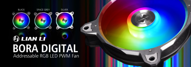 LIAN LI Launches New Stylish BORA Digital Fans