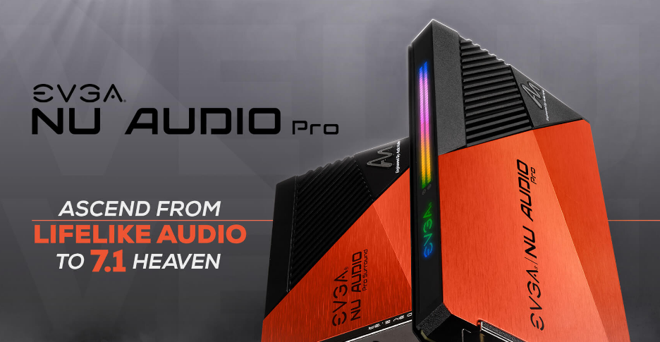 Introducing the EVGA NU Audio Pro 7.1