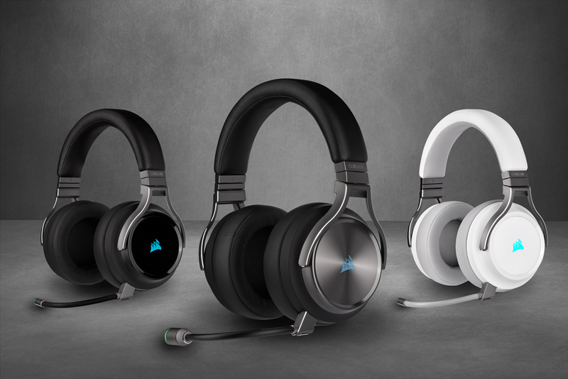 CORSAIR introduces VIRTUOSO RGB Wireless Gaming Headsets