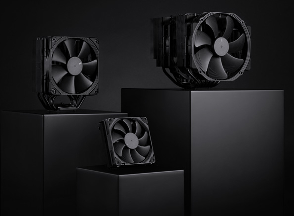 Noctua introduces chromax.black CPU coolers