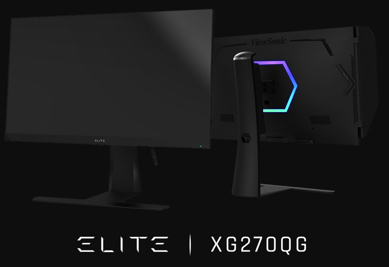 ViewSonic Introduces New ViewSonic ELITE Gaming Monitors with G-SYNC IPS Nano Color and 1ms Response Time