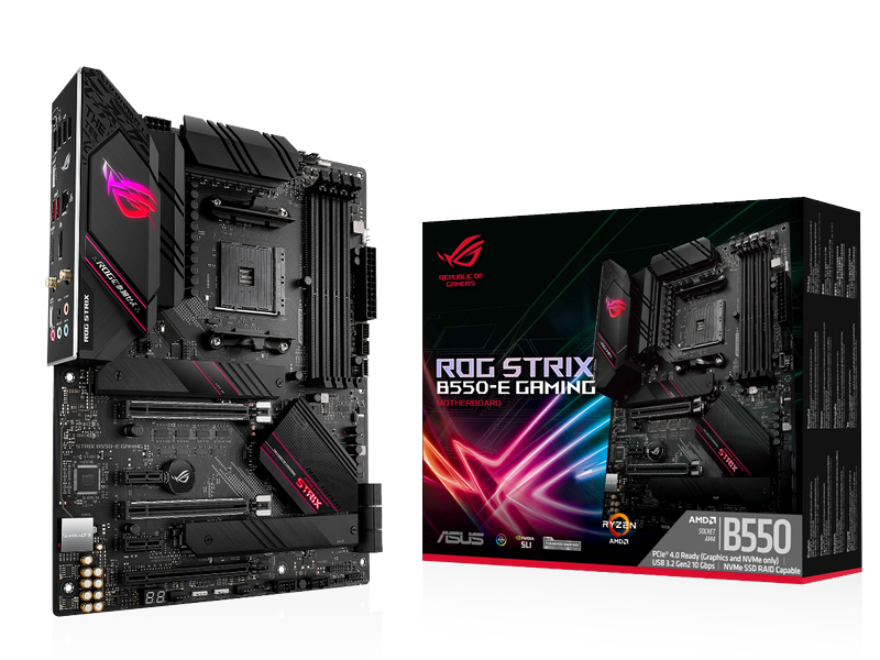 ASUS Launches New Motherboards with AMD B550 Chipset