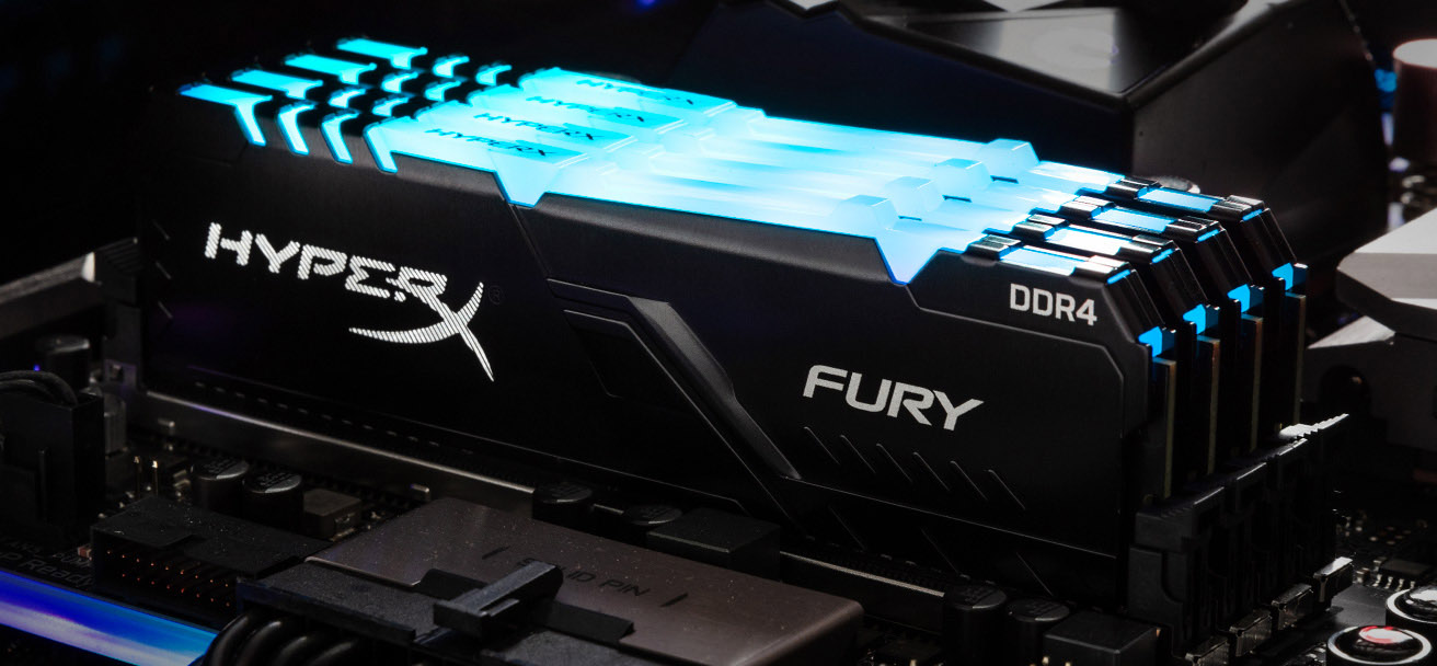 HyperX Announces FURY DDR4 RGB Memory SKU Additions