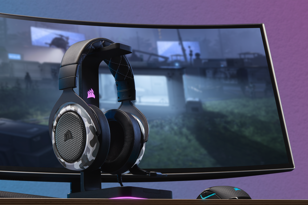 CORSAIR Launches HS60 HAPTIC Gaming Headset