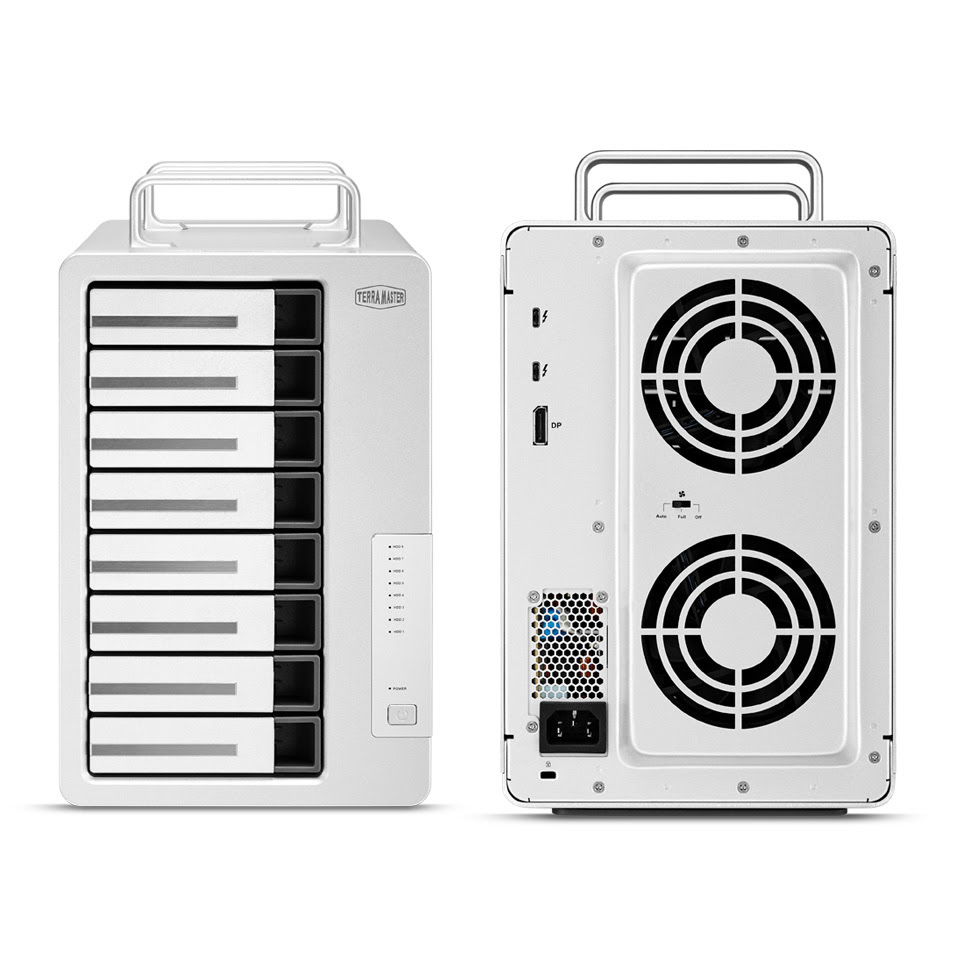 TerraMaster Launches D8 Thunderbolt 3 8-Bay RAID Storage