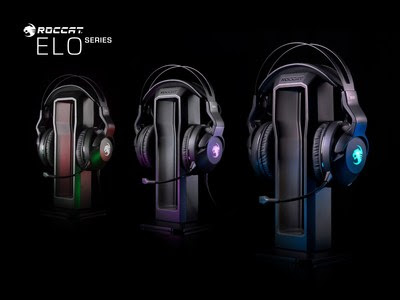 ROCCAT Reveals The Elo Series PC Gaming Headsets