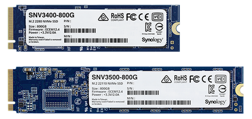 Synology launches 25GbE NICS and new SSDS