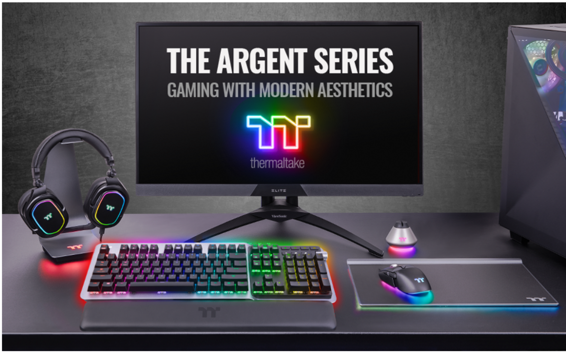 Thermaltake Introduces ARGENT Gaming Peripherals with Immersive Gaming Ecosystem