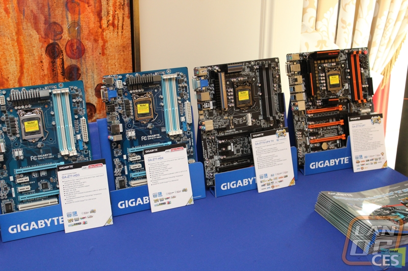 Gigabyte at CES 2013 - LanOC Reviews