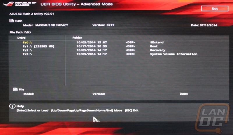 Asus Maximus VII Impact - LanOC Reviews
