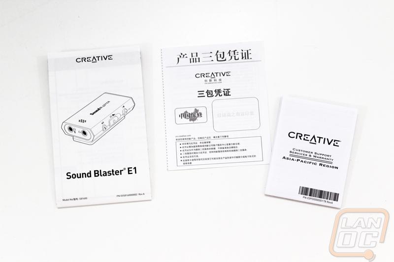 Creative Labs Sound Blaster E1 - LanOC Reviews