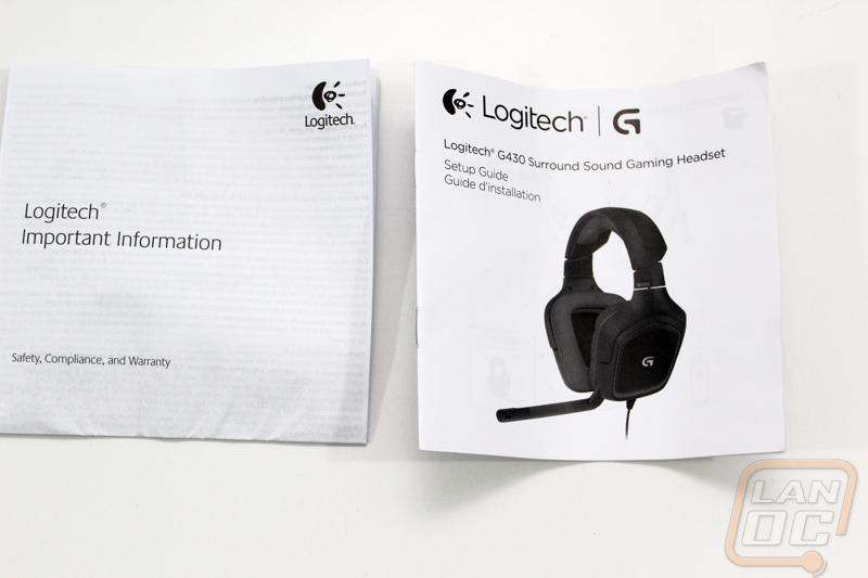 Logitech G430 - LanOC Reviews