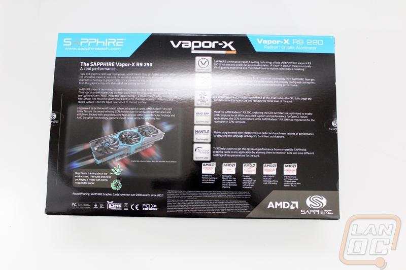 Sapphire Vapor-X R9 290 - LanOC Reviews
