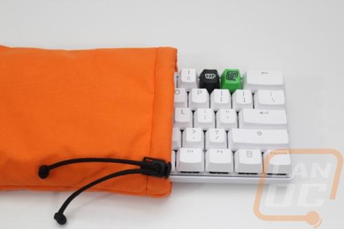 1UP Keyboards Pok3r Sleeve - LanOC Reviews