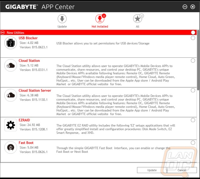 Gigabyte App Center Review