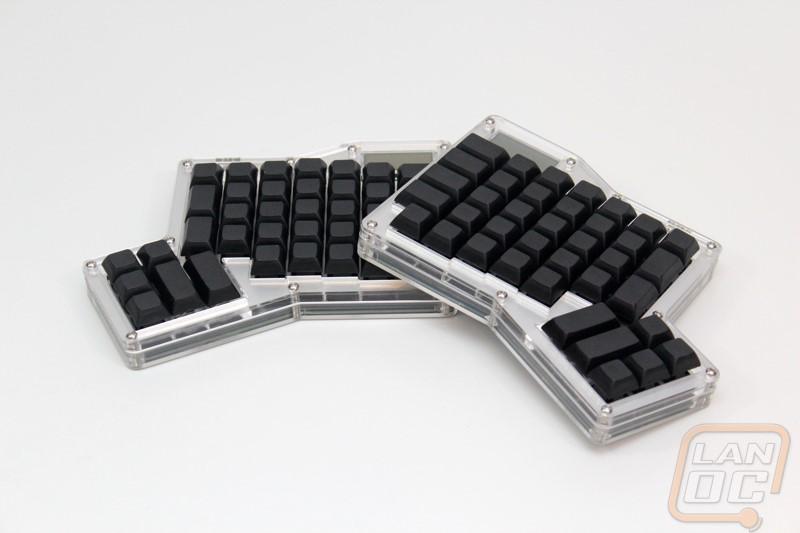 Input Club Infinity ErgoDox Ergonomic Keyboard Kit - LanOC