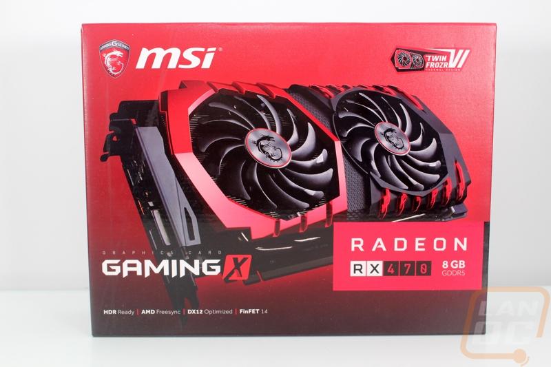 MSI RX 470 Gaming X 8GB - LanOC Reviews